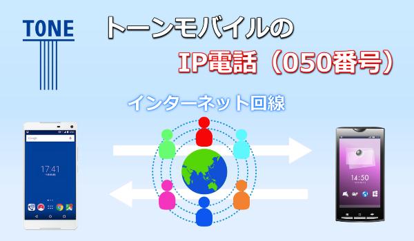 トーンモバイル IP電話
